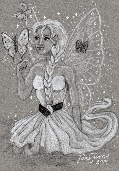 """Butterfly Faerie"" by Linda Sayegh"